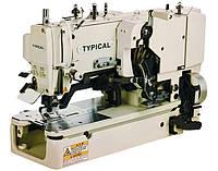 Петельная полуавтоматическая швейная машина  челночного стежка Typical GT670-01