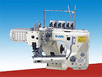 Плоскошовная швейная машина с цилиндрической платформой Shunfa SF6200-01MS-D