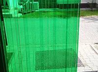 Профилированный ПВХ Ондекс прозрачный зеленый 3000*1095