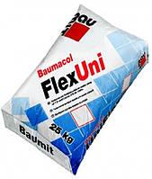 Эластичная клеящая смесь Baumit FlexUni для плитки из природного и искусственного камня, класс С2Т, 25 кг