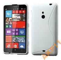 Силиконовый S-line чехол Nokia Lumia 1320