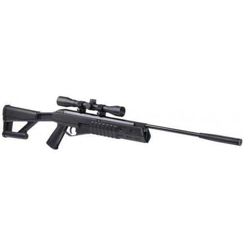 Пневматическая винтовка Fury II Blackout + прицел 4х32