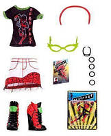 Одежда для куклы Гулия Йелпс (Monster High Comic Book Club Ghoulia Yelps Fashions Pack)