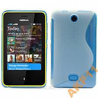 Силиконовый S-line чехол для Nokia Asha 501