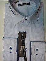 """Рубашка мужская """"BAZZOLO"""" полуприталенная"""