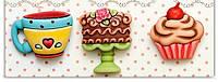 Пуговицы фигурные «Sweet Treats_3» Buttons Galore, фото 1