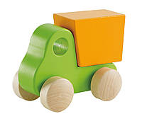 """HAPE Игрушка """"Маленький самосвал"""" зеленый  (Е0054), фото 1"""