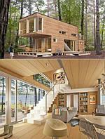 Проектирование и строительство Модульный частный жилой дом по европейским технологиям