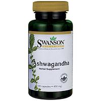Ашваганда, 450 мг. 100 капсул
