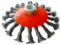 Щетка Werk конусная плетеная 125 мм (WE107625)