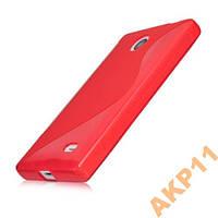 Силиконовый S-line чехол для Nokia X A110