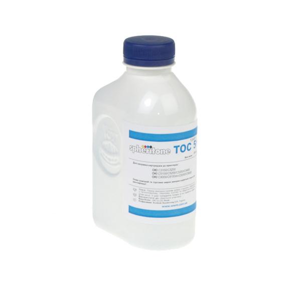 Тонер Spheritone для OKI C3100/C3200/C5100 бутль 180г Cyan (TH80C)