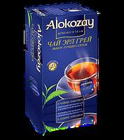 Alokozay Чай Эрл Грей черный с бергамотом пакетированный без добавок 25 х 2г