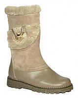 Детские зимние кожаные сапоги Каприз размер 32-36