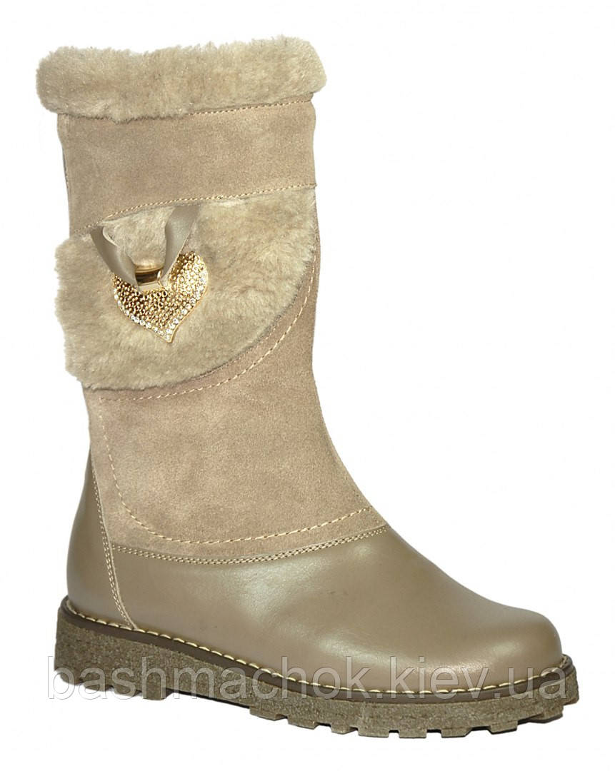 Детские зимние кожаные сапоги Каприз размер 31 fd9ed18cbdbb8