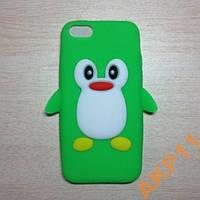 Силиконовый чехол Пингвин для Iphone 5 5s, Z71