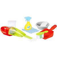 Набор для уборки 14057 пылесос-свет,на бат-ке, щетка, миска, совок, в коробке, 39,5-31-9 см