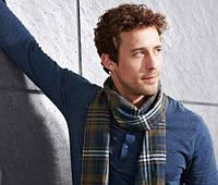 Мужской фланелевый шарф ТСМ Tchibо Германия