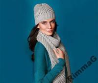 Красивый теплый шарф ТСМ Tchibo (Германия)