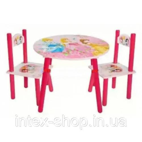 Набор детской мебели J 002-288 (детский столик и стульчики)