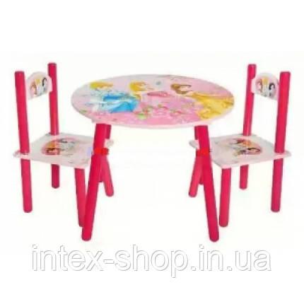 Набор детской мебели J 002-288 (детский столик и стульчики), фото 2