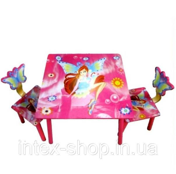 Набор детской деревянной мебели «Винкс»