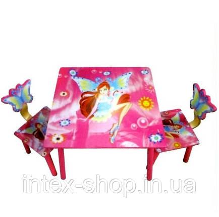 Набор детской деревянной мебели «Винкс», фото 2