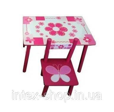 Детский столик со стульчиками М 0730R, фото 2