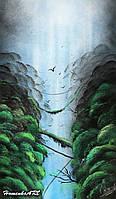 Картина Spray Paint Art 35х64 см
