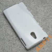 Силиконовый глянцевый чехол Sony Xperia P LT22i