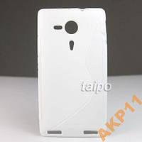 Силиконовый S-line чехол для Sony Xperia SP M35h