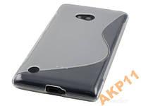 Силиконовый s-line чехол для Nokia Lumia 720