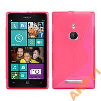 Силиконовый s-line чехол для Nokia Lumia 925