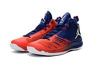 Мужские баскетбольные кроссовки Air Jordan Super Fly 5 (Red/Blue), фото 1