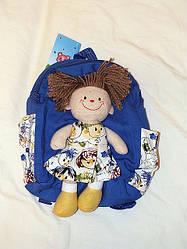 Рюкзак с куколкой-девочкой РК-04