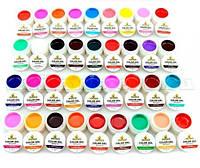 Цветной гель COCO - набор 36 баночек по 5мл