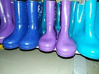 Дитячі резинові чоботи