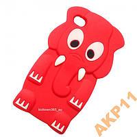 Силиконовый чехол Слон для Iphone 5 5s, Z100