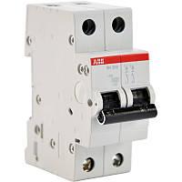 Автоматический выключатель ABB SН202 B 25А 6кА 2-полюсный