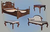 Мебель резная