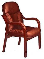 Кресло Лондон CF, кожзам коричневый
