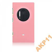 Пластиковый прорезиненный чехол Nokia Lumia 1020