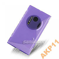 Силиконовый s-line чехол Nokia Lumia 1020