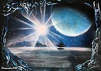 Картина Spray Paint Art 45х64 см