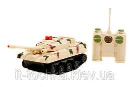 Танк радиоуправляемый play smart 9671 Боевой танк музыкальные, световые эффекты 25*8*10 см в коробке