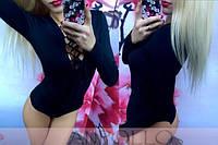 Женский модный боди со шнуровкой (3 цвета)