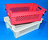 Ящик пластмассовый 600х400х200 мм красный