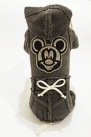 "Спортивный костюм  ""Микки"" размер S (26 см) Vip Doggy темно серый, фото 1"