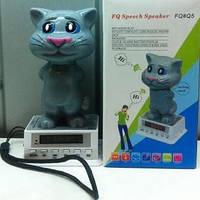 Портативная колонка MP3 плеер Кот Том Cat Tom FQ5