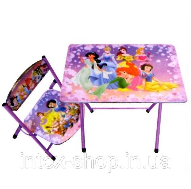 """Детская парта – столик со стульчиком """"Принцессы"""""""